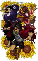 Samurai Champloo by akfc