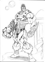 He-Man - Fisto by Wolf-Signs
