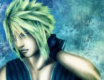 Cloud Strife - colored version by Tsukishibara