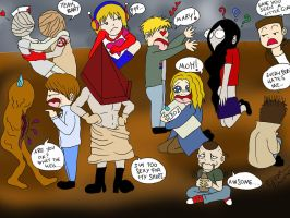 Silent Hill Crazy World xD by BrutalTomoko
