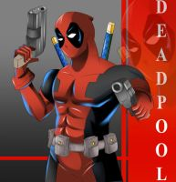 Deadpool by Razorkun