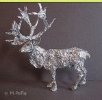 Foil Reindeer by Reptangle