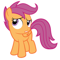 Scootaloo Doubtful by OTfor2