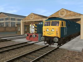 Wendell and Bad Bob by Caledonian812