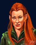 Captain Tauriel by Mad-Hattie