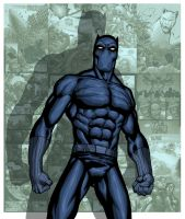 BLACK PANTHER by PORTELA