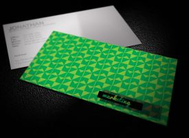 Urban Pat Business Card by graphcoder