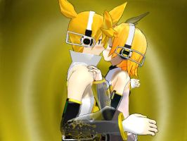 Append Rin x Len Love by Rayne-Ray