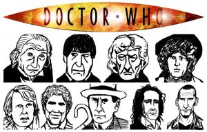 My art of Doctor Who by StevenEly