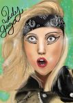 Lady Gaga Poster by PetiteAngelLove