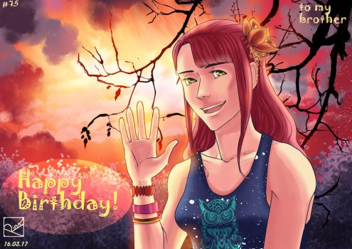 Happy 21th birthday by Rina-from-Shire