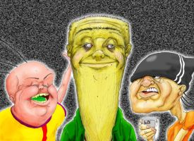 Ed, Edd, n Eddy nightmare by GreencardLove