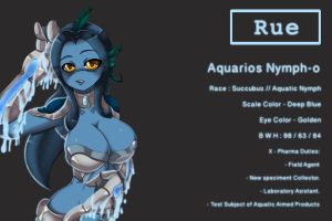 Aquatic Nymph Rue by D-Xross