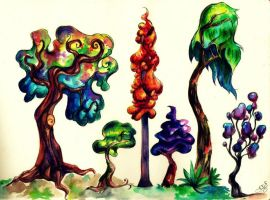 Forest of Diversity by NynjaKat