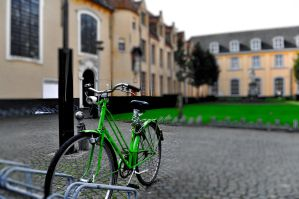 Green Bike by simona723