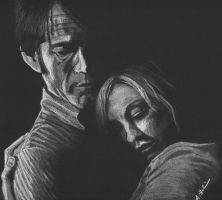 Bill and Sookie by Jellyneau