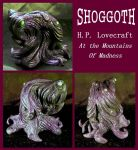 H.P. Lovecraft - SHOGGOTH by zombiequadrille