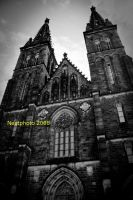 Vysehrad Church by Nextphoto