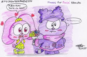 REmake Flowers for Panini by murumokirby360