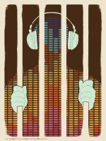 Cuban Art poster: Music Piracy by Mykol225