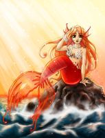The Mermaid by OtakuEC