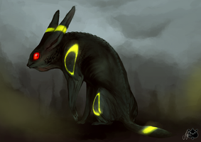 Umbreon my Style by JollyPiik