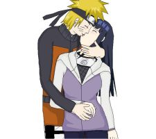 naruhina kiss by mathina