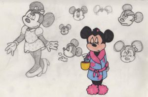 Minnie Mouse by CaribbeanMouse