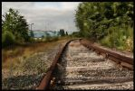 Abandoned Railway line - HDR by ryangrimley