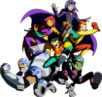 Teen Titans by ArtToroArtServices