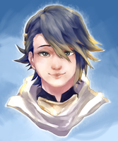 Alfonse : Fire Emblem Heroes by Lady-Was-Taken