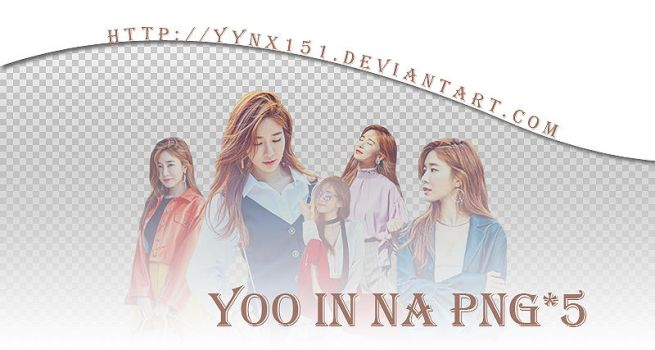 Yoo In Na png pack #01 by yynx151