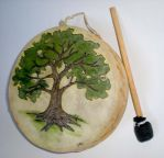 Tree of Life Drum by Shadowind