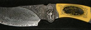 Celtic Knife by Deaths-stock