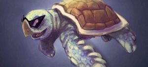 Speed Paint 09 - Squirtle by Art-by-Smitty