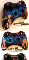 Borderlands Tiny Tina Xbox Controller by Edge-Works
