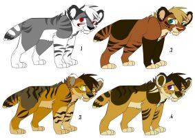 Saber adoptable:Batch 2 ALL SOLD by Rain-Strive