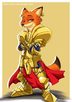 Nick Gilgamesh Wilde by Rud-K