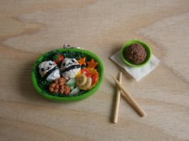 Mini Clay Bento Box by Fimochu