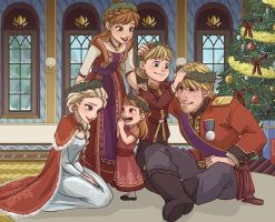 Royal Family Holiday by xxMeMoRiEzxx