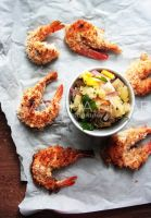 Baked Coconut Shrimp by sasQuat-ch