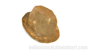 Packing Tape Trilby by eviloatmeal