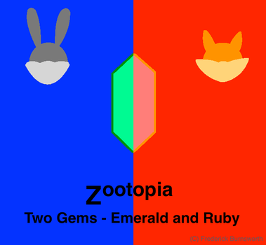 The Gems - Emerald and Ruby Avatar/Cover by GlitchSamo21