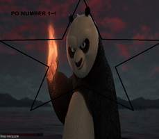 KFP 2-Po holding fire Fire like a pro EDIT, PO #1 by SuperSayian5Naruto