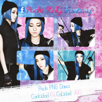 Pack PNG Dara (2NE1) by GAJMEditions