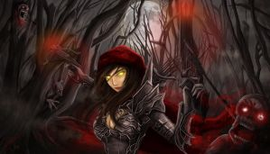 Diablo III: Reaper of Souls - Demon Huntress by ChexyTime
