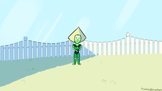 Peridot!!! by Treebroughtmehere