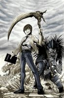 Death Note by MasonEasley
