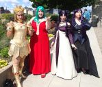 Sailor Moon Villains by Elandhyr
