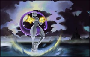 Mewtwo: The Encounter by aocom